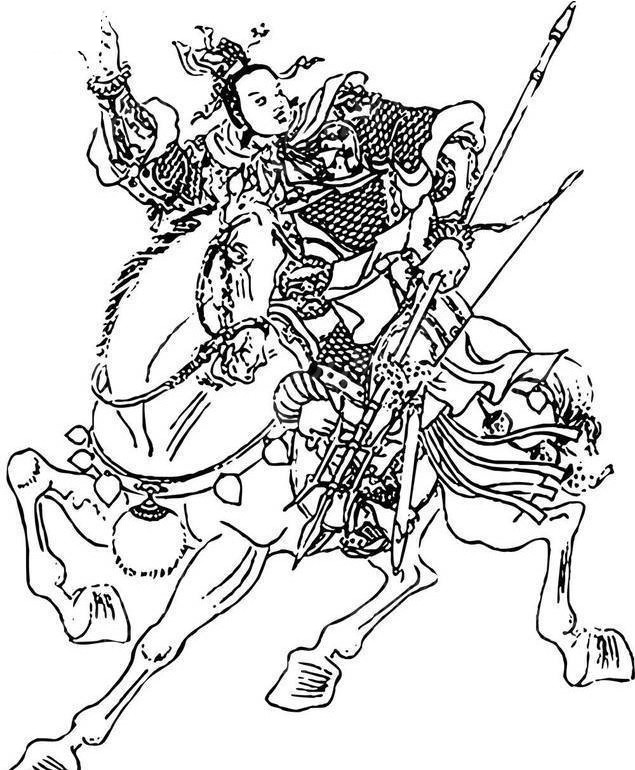 赛仁贵郭盛-水浒传人物