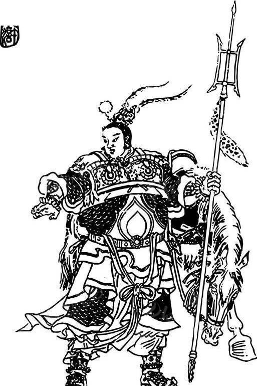 小温侯吕方-水浒传人物