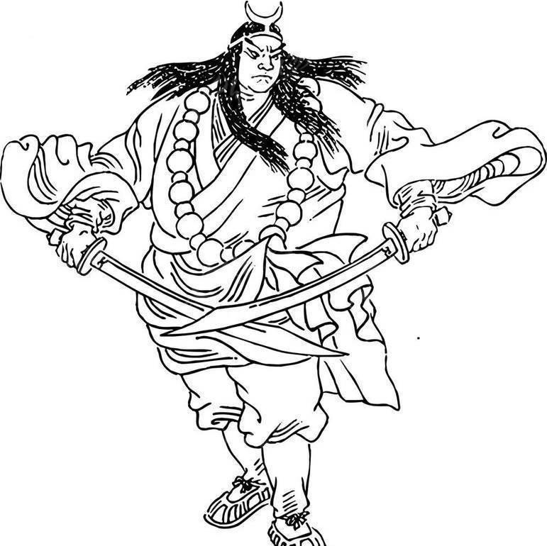 行者武松-水浒传人物
