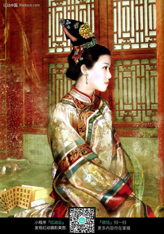 宫廷古典美女