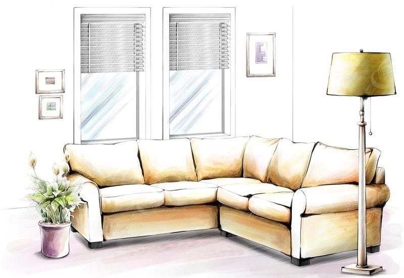 灯具  室内设计手绘效果图