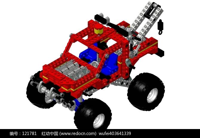 玩具汽车3d模型图片