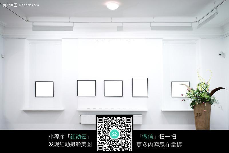 展厅空白展示模板图片