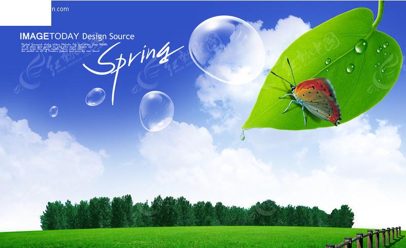 春天大自然风景图片