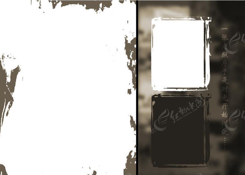 免费素材 psd素材 psd摄影模板 背景模板 免费个性相册模板  请您分享