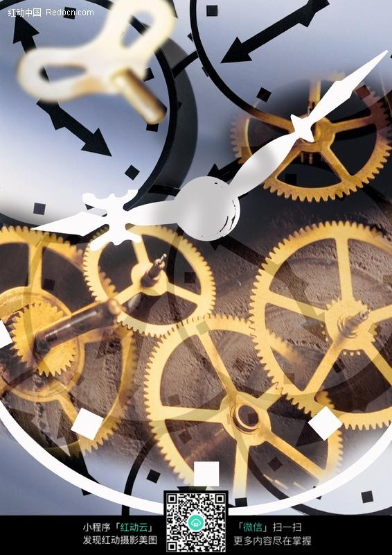 钟表齿轮图片