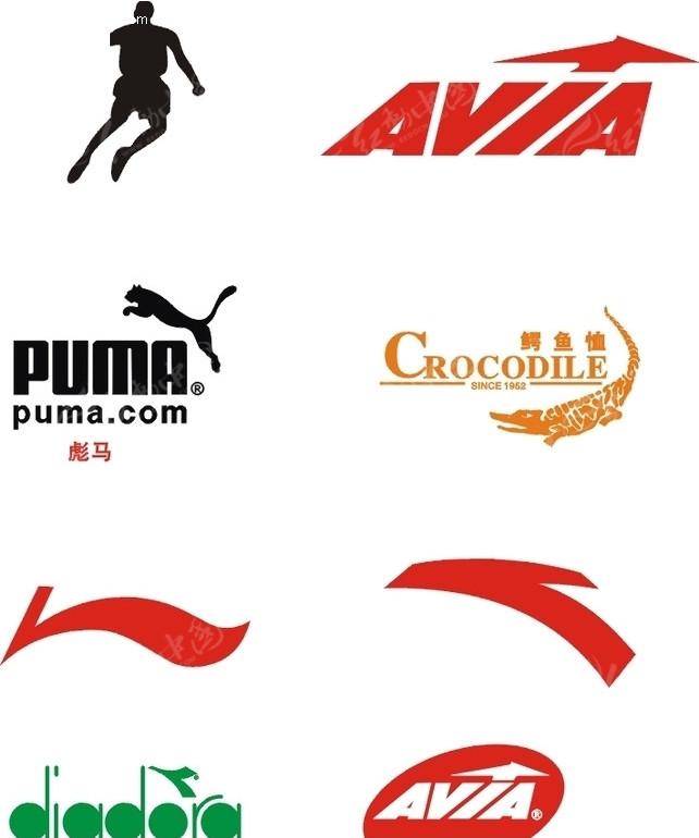 运动品牌标志030