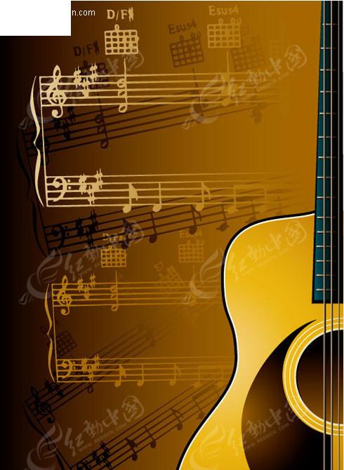 矢量乐谱-吉他