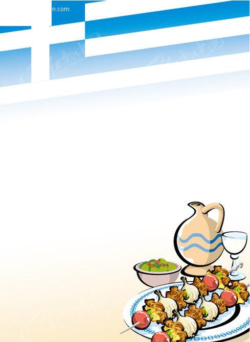 烤串 牛奶图片 手绘厨师图片 餐饮美食海报背景图 矢量海报设计模板