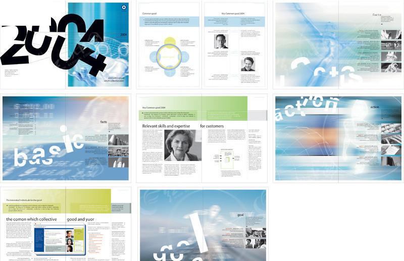 公司画册版式设计模板ai素材免费下载_红动网