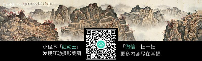 白雪石桂林山水图片