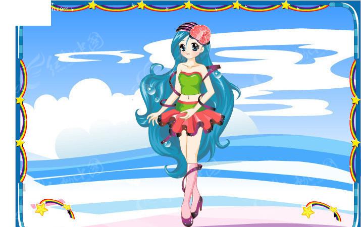 梦幻公主卡通十二星座之双鱼