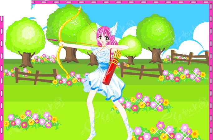 梦幻公主卡通十二星座之射手