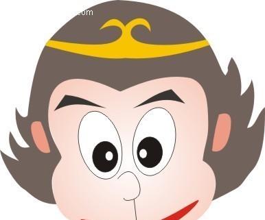 孙悟空 卡通人物 卡通人物图片 漫画人物 人物素材 人物图片 矢量人物