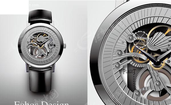 手表表盘机械构造