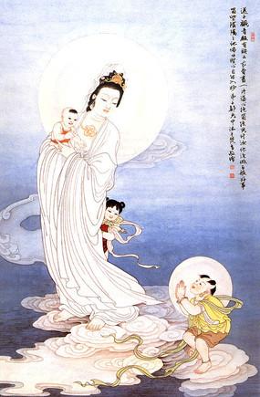 柿崎景家手绘画像