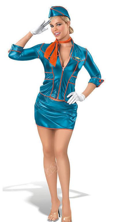 俄罗斯空姐 外国性感美女