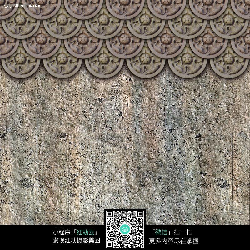 欧式花纹装饰墙图片_底纹背景图片
