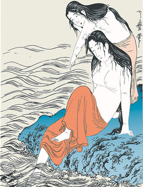 日本古代人物造型设计素材专辑(35张)