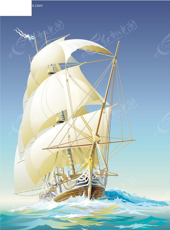 帆船的行驶原理动画_帆船逆风行驶原理动画