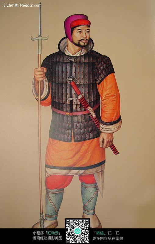 中国古代士兵将军图