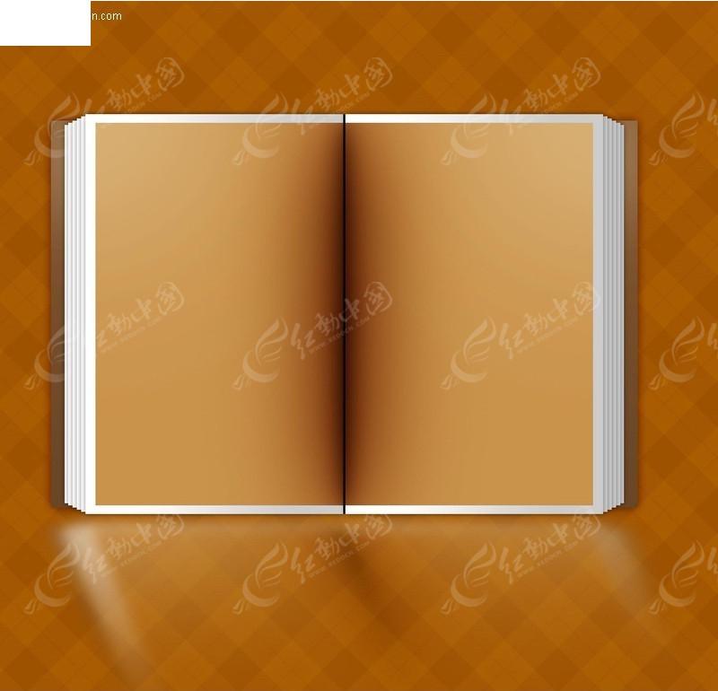翻开的书图片简笔画