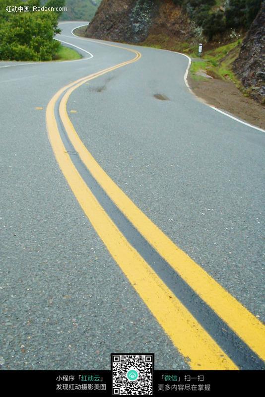 弯曲公路图片_道路摄影图片