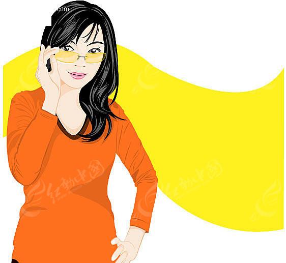 免费素材 矢量素材 矢量人物 女性女人 成熟女性  请您分享: 素材描述