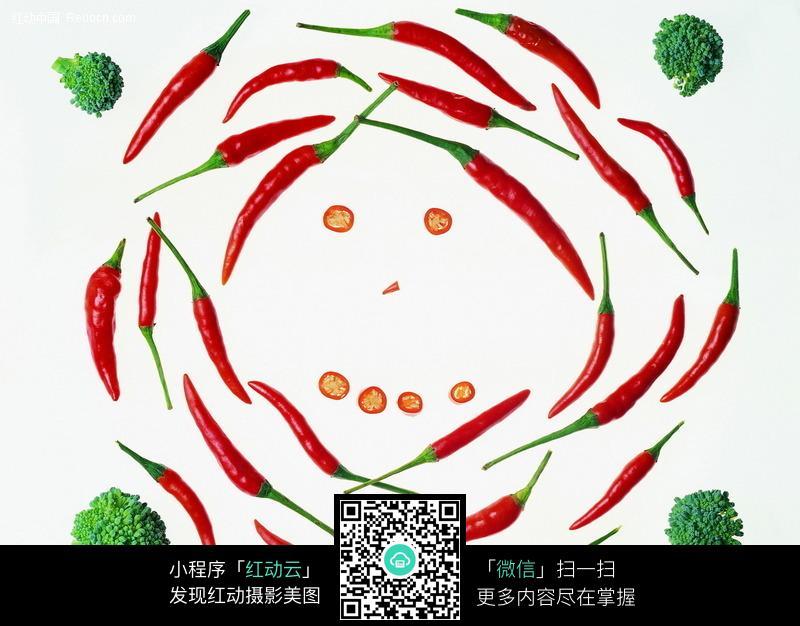 免费素材 图片素材 背景花边 边框相框 蔬菜人脸边框