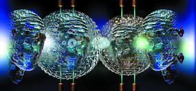3D水晶人像数码图片
