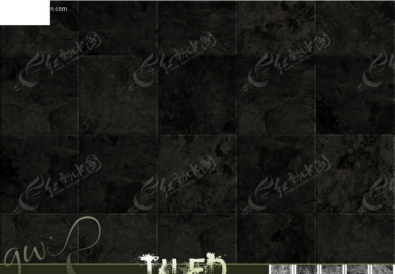 手绘游戏墙砖贴图