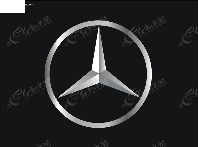 奔驰logo矢量图高清图片