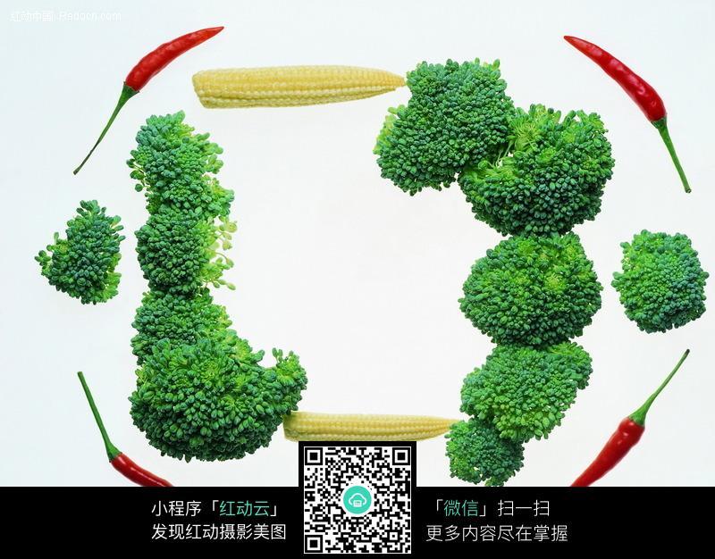 免费素材 图片素材 背景花边 边框相框 > 蔬菜边框图片  免费下载我要