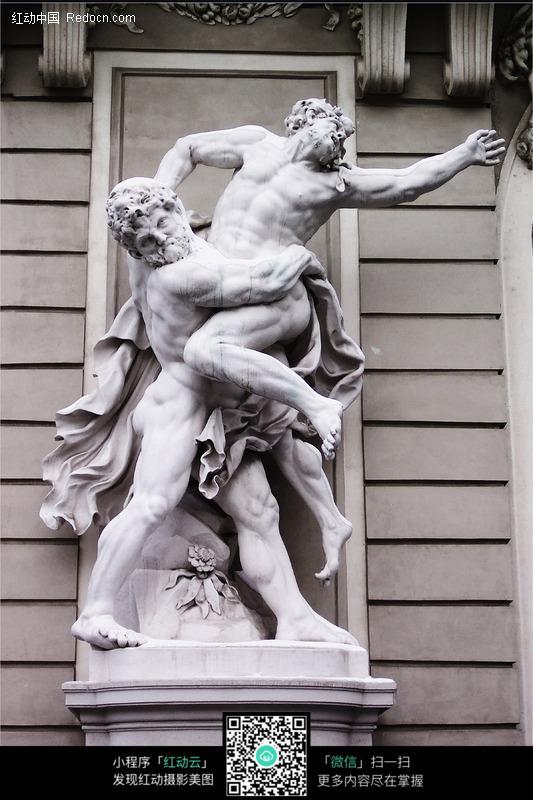 西方人物雕塑图片