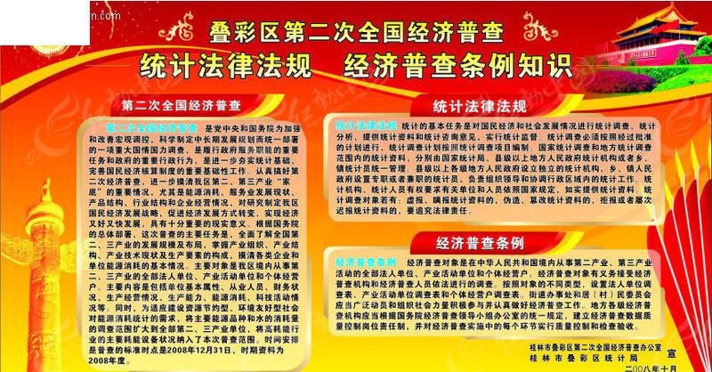政府机关宣传板报 展板设计 红动手机版图片