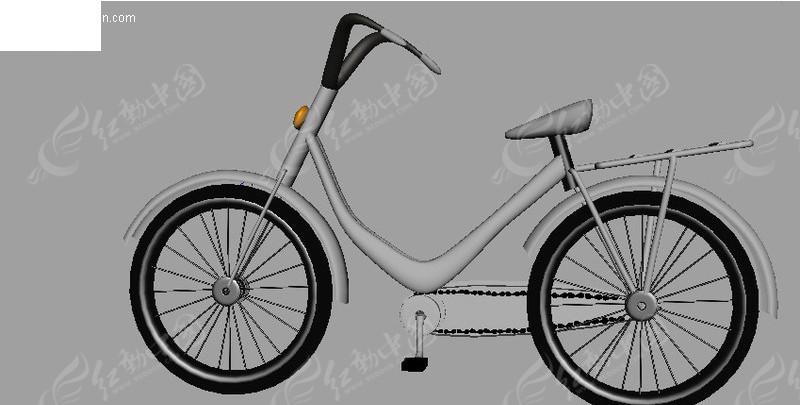 bike自行车3d模型图片