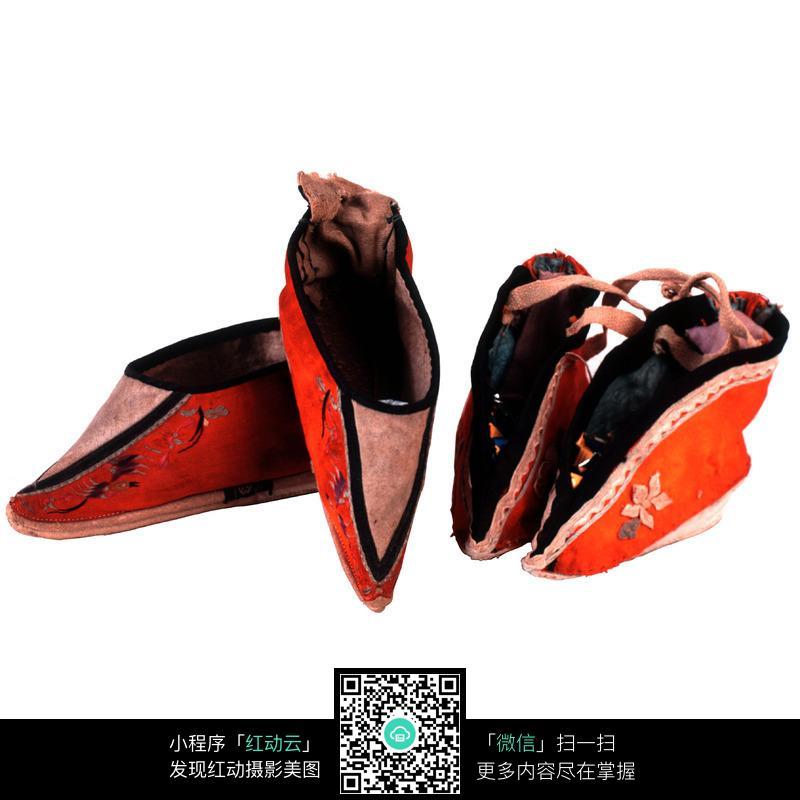 古代女子缠足鞋