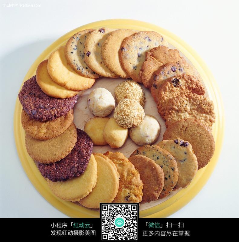 饼干拼盘图片_西餐美食图片
