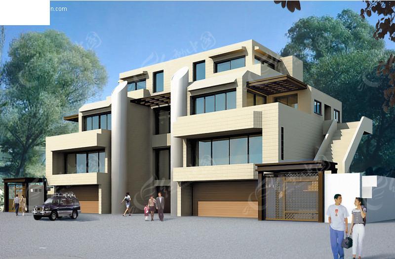 设计图分享 出租屋房屋设计图  农村自建房屋设计图别墅小院设计效果