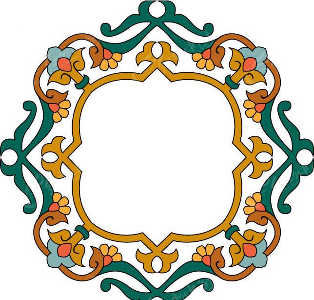 蒙古古典边框EPS素材免费下载 编号156035 红动网