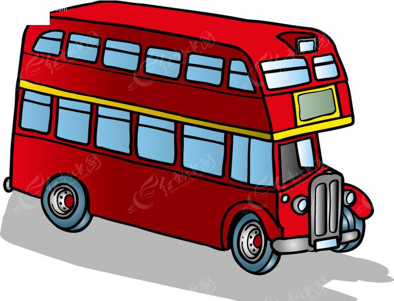 巴士简笔画