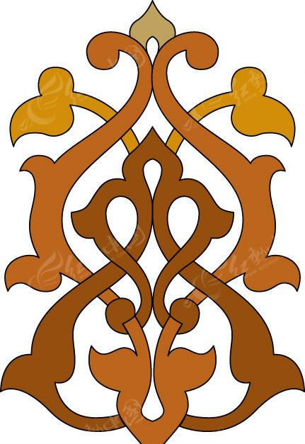 蒙古古代花纹EPS素材免费下载 编号156032 红动网