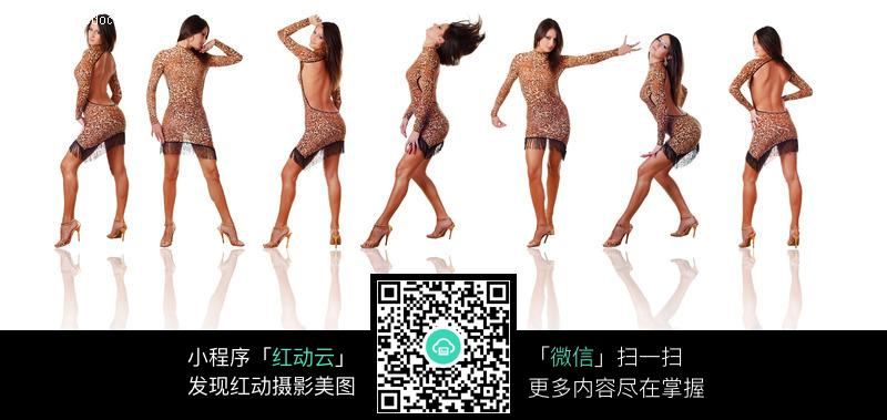性感美女舞蹈动作图片