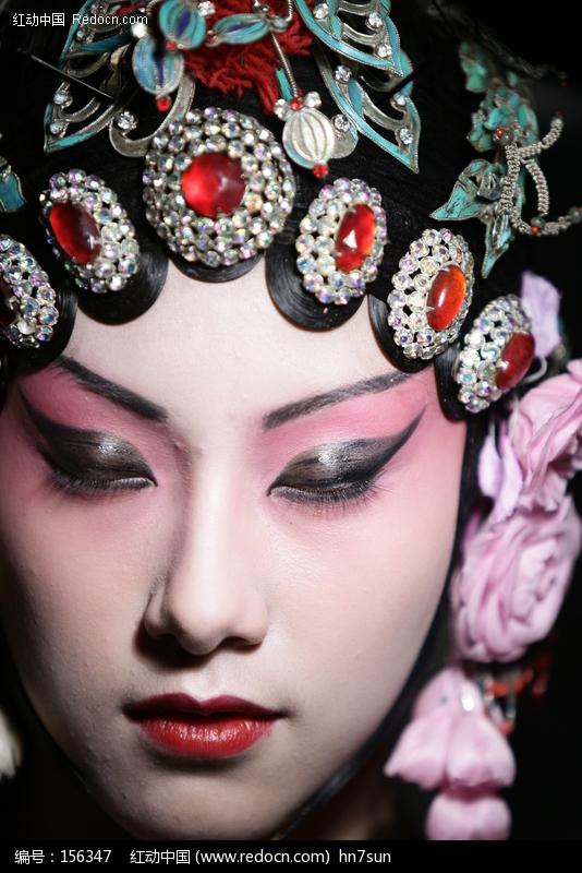 京剧花旦扮相图片图片