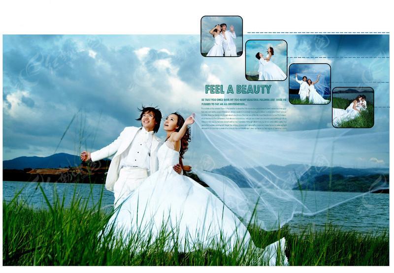 主题婚纱摄影 我们的故事 影楼婚纱写真模板 我们的 主题婚纱摄影设计图片