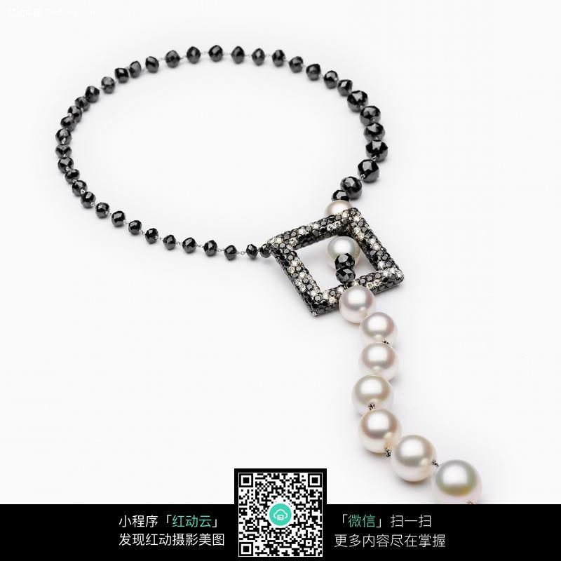 珍珠项链珠宝饰