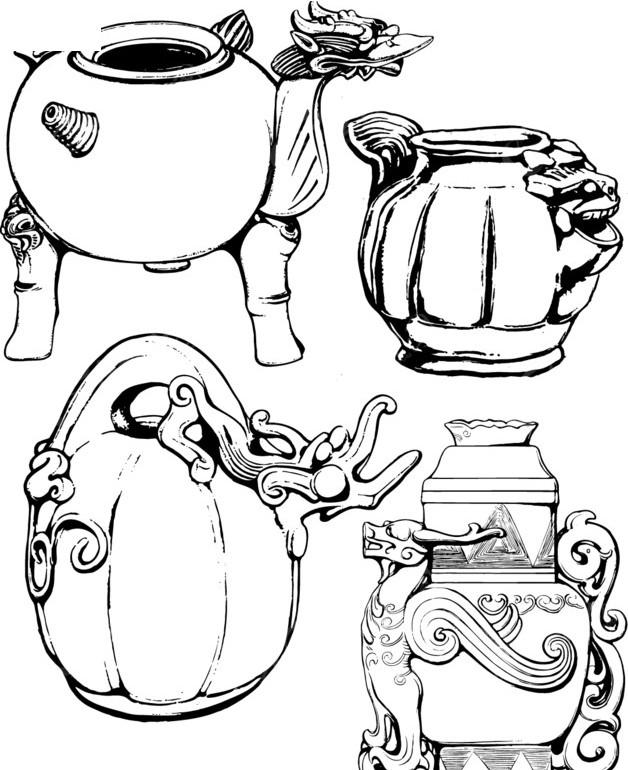 免費素材 矢量素材 藝術文化 傳統工藝品 經典器皿裝飾紋樣  請您分享