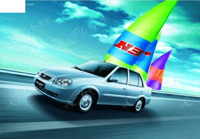 夏利n3 汽车广告图片高清图片