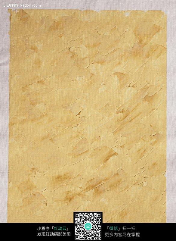 黄色手绘底纹背景素材图片