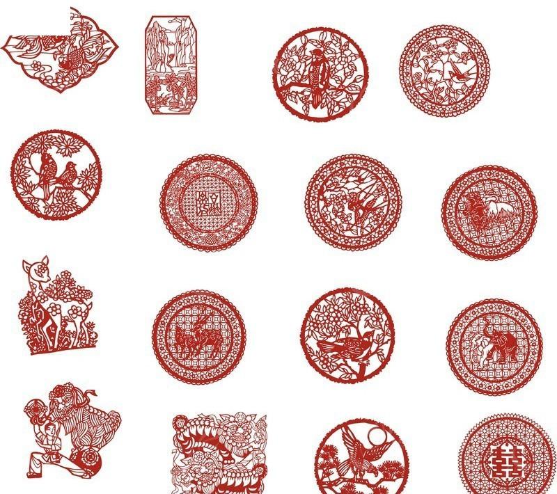 25种剪纸教程图解